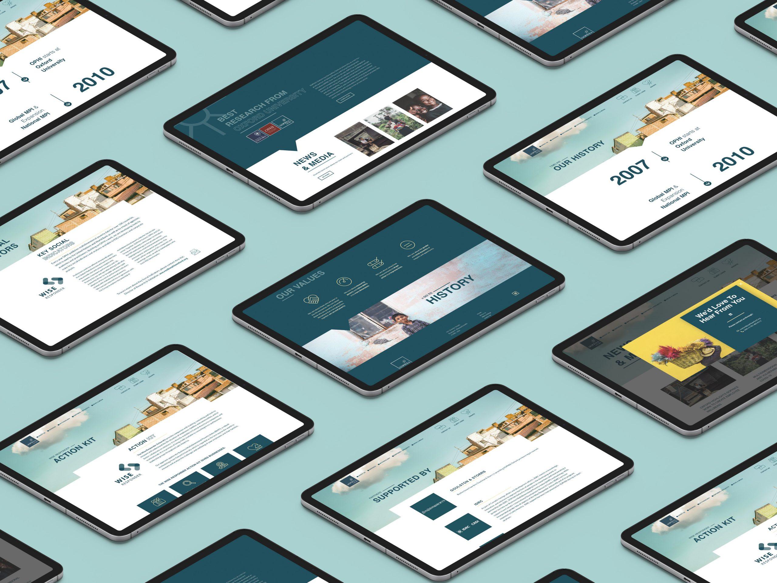 Sitio web Oficial Vista tablet